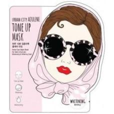 Тканевая маска для лица Baviphat Urban City Azulene Tone-up Mask Whitening, 25 гр.