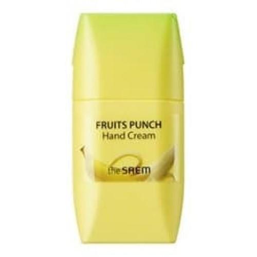 Крем для рук The Saem Fruits Punch Hand Cream Banana, 50 мл