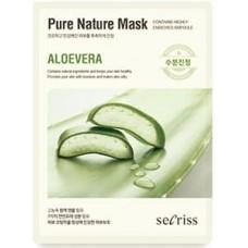 Тканевая маска для лица Anskin Secriss Pure Nature Mask Pack Aloe vera, 25 мл