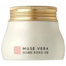 Крем для лица Deoproce Muse Vera Pit Pat Cream с цветочными экстрактами, 120 гр.