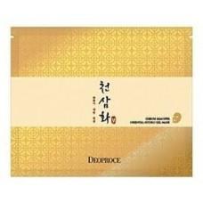 Антивозрастная гидрогелевая маска для лица Deoproce Cheon Sam Hwa Oriental Hydro Gel Mask, 25 гр.