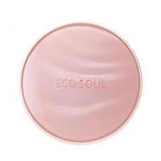 Пудра увлажняющая солнцезащитная The Saem Eco Soul Essence Cushion Moisture Lasting 23, 13 гр.