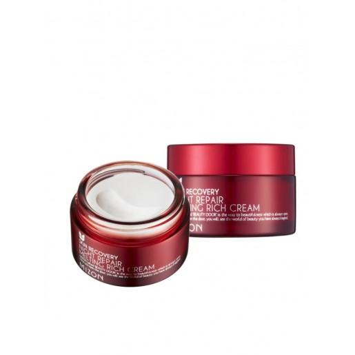 Интенсивный тающий ночной крем для лица Mizon Night Repair Melting Rich Cream, 50 мл