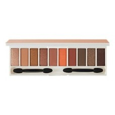 Палетка теней для глаз The Saem Color Master Shadow Palette 04 Warm Orange, 1.1 гр.*10
