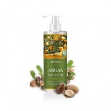 Бальзам для волос Deoproce Rinse Argan Silky Moisture с аргановым маслом, 1 л.