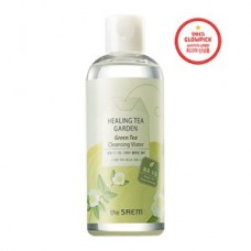 Вода очищающая увлажняющая The Saem Healing Tea Garden Green Tea Cleansing Water с экстрактом зеленого чая, 300 мл