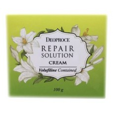 Крем для лица Deoproce Repair Solution Cream с волюфилином, 100 гр.