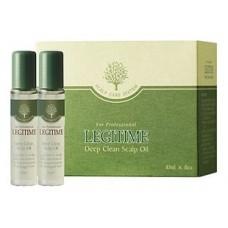 Масло для глубокого очищения кожи головы mugens legitime deep clean scalp oil, 8 шт. по 10 мл
