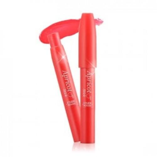 Бальзам-блеск для губ Etude House Apricot Stick Gloss 7 Rasberry, 2 гр.