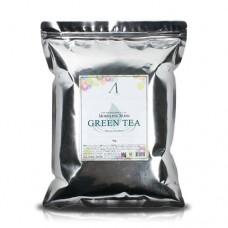 Альгинатная маска Anskin Green Tea Modeling Mask с экстрактом зеленого чая, 1 кг