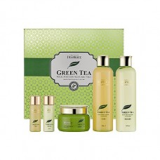 Набор для лица уходовый Premium Deoproce Green Tea Total Solution 3 Set