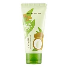 Скраб для ног Nature Republic Foot & Nature Coconut Smoothing Foot Scrub с маслом кокоса, 80 мл