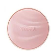 Пудра увлажняющая солнцезащитная The Saem Eco Soul Essence Cushion Moisture Lasting 13, 13 гр.