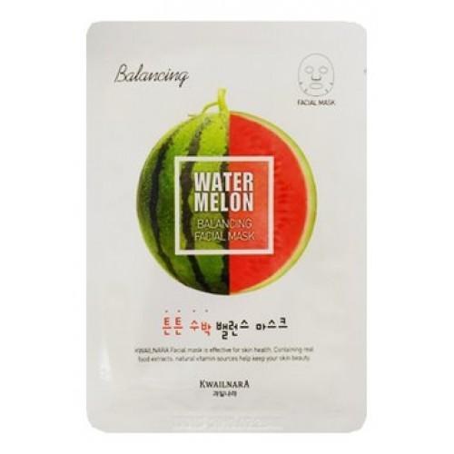 Маска для лица балансирующая Kwailnara Watermelon Balancing Facial Mask, 23 мл