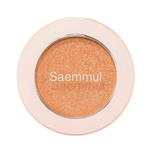Тени для век с глиттером The Saem Saemmul Single Shadow (Glitter) OR04, 2 гр.