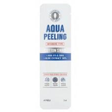 Пилинг для лица A'Pieu Aqua Peeling Cotton Swab Intensive с АНА-кислотами, 1 шт.
