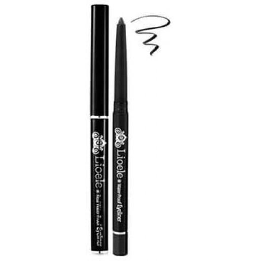 Подводка для глаз водостойкая Lioele Waterproof Eyeliner Pencil 01 Black, 0,1 гр.