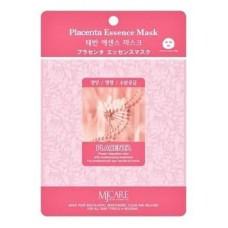 Тканевая маска для лица плацента Mijin Placenta Essence Mask, 23 гр.