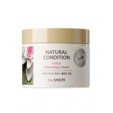 Крем очищающий The Saem Natural Condition Lotus Cleansing Cream, 300 мл