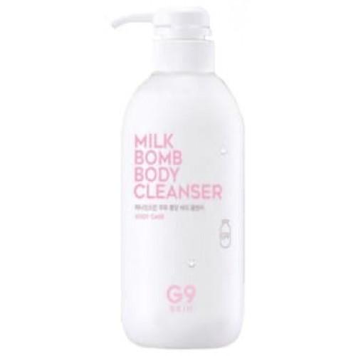 Очищающее молочко для тела G9SKIN Milk Bomb Body Cleanser, 500 мл