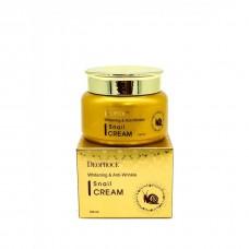 Крем для лица Deoproce Whitening And Anti-Wrinkle Snail Cream с муцином уликти, 100 мл