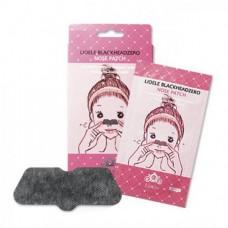 Патчи для очищения пор носа набор Lioele Blackhead Zero Nose Patch Set 5 шт.