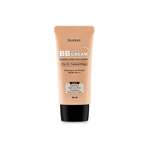 BB крем Deoproce Magic BB Cream 21 с коллагеном и гиалуроновой кислотой, 60 мл
