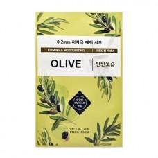Тканевая маска для лица Etude House Therapy Air Mask Olive, 20 мл
