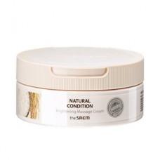 Крем массажный для яркости кожи The Saem Natural Condition Brightening Massage Cream, 200 мл.