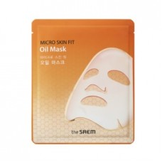 Маска с маслом кокоса биоцеллюлозная The Saem Micro Skin Fit Oil Mask, 27 мл
