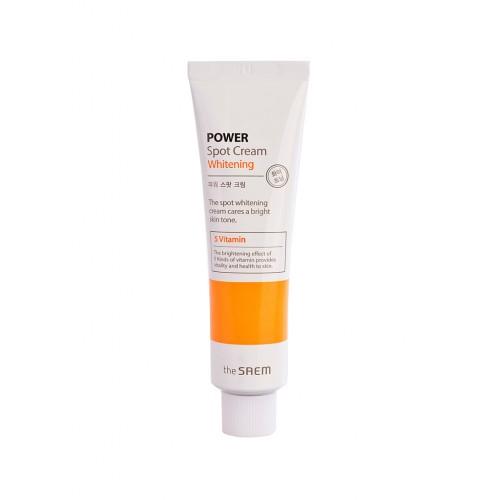 Осветляющий крем для лица The Saem Power Spot Cream Whitening, 35 мл