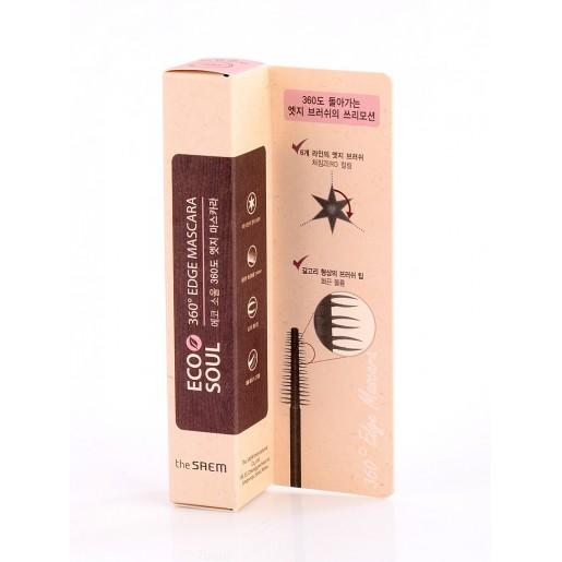 Тушь для ресниц The Saem Eco Soul 360 Edge Mascara, 9 мл