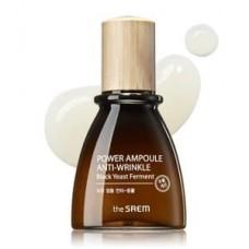 Антивозрастная ампульная эссенция для лица The Saem Power Ampoule Anti-wrinkle, 40 мл.