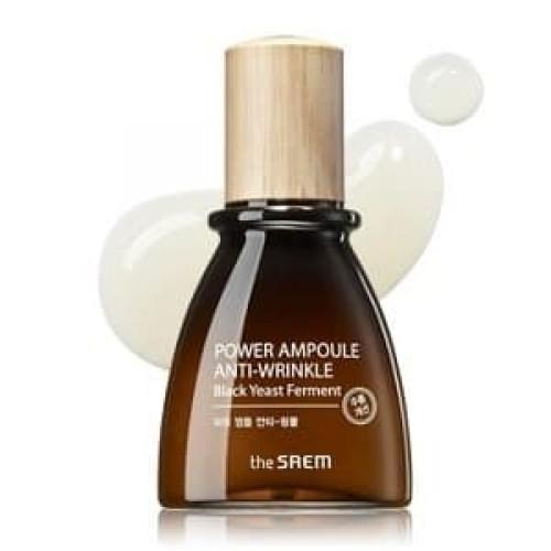 Антивозрастная ампульная эссенция для лица The Saem Power Ampoule Anti-wrinkle, 40 мл