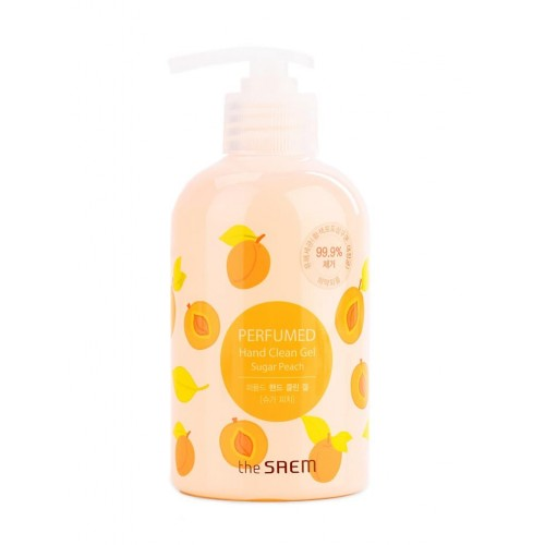 Гель для рук очищающий The Saem Perfumed Hand Clean Gel Sugar Peach, 300 мл