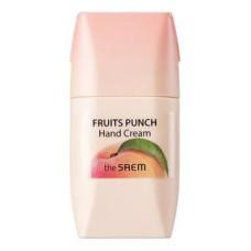 Крем для рук The Saem Fruits Punch Hand Cream Peach, 50 мл.