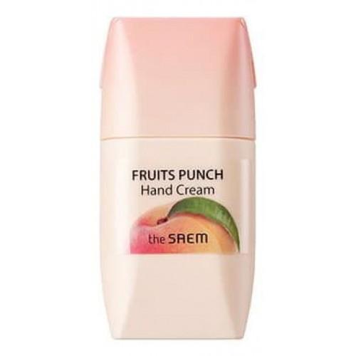 Крем для рук The Saem Fruits Punch Hand Cream Peach, 50 мл