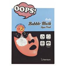 Маска-пилинг для увлажнения Berrisom Soda Bubble Mask Aqua Fruit, 18 мл