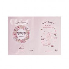 Маска для ног Etude House Hand bouguet Rich butter Foot Mask, 2 шт. по 18 гр.