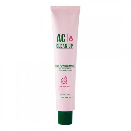 Маска для проблемной кожи Etude House AC Clean Up Pink Powder Mask с розовой глиной, 100 мл