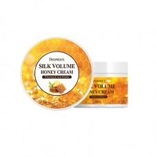 Питательный крем для лица Deoproce Moisture Silk Volume Honey Cream, 100 мл