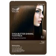 Маска для волос с маслом ши Shea Butter Shining Hair Pack, 25 гр.