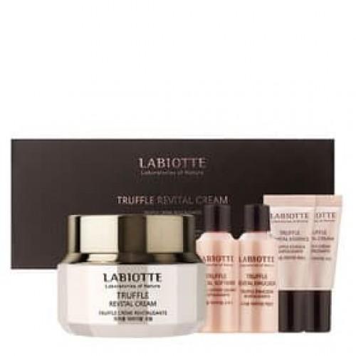 Набор восстанавливающих кремов для лица Labiotte Truffle Revital Cream Set с экстрактом трюфеля, 50 мл + 20 мл +20 мл + 5 мл + 5 мл