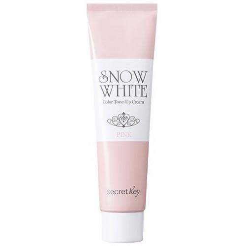 Крем для лица осветляющий Secret Key Snow White Color Tone Up Cream Pink, 30 мл