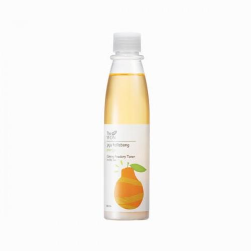 Тонер для жирной кожи успокаивающий Jeju Hallabong Energy Calming Powdery Toner for Oily Skin, 200 мл