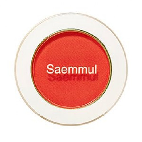 Тени для век матовые The Saem Saemmul Single Shadow (matte) RD07 The First Red, 1,6 гр.