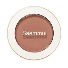 Тени для век матовые The Saem Saemmul Single Shadow (matte) BR17 Emotional Brown, 1,6 гр.