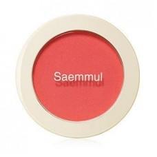 Румяна The Saem Saemmul Single Blusher RD01 Dragon Red, 5 гр.