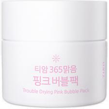 Кислородная маска для лица TIAM Trouble Drying Pink Bubble Pack, 80 мл