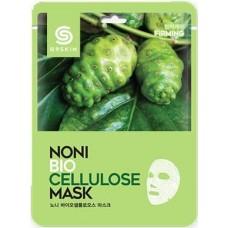 Тканевая маска для лица G9SKIN Noni Biocellulose Mask с экстрактом нони, 25 гр.